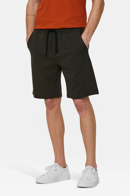 Heren sweatshort Legergroen