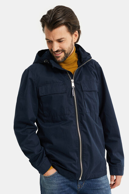 Heren field jacket Donkerblauw