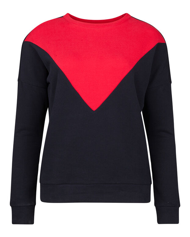 DAMES SPORTY SWEATER Donkerblauw