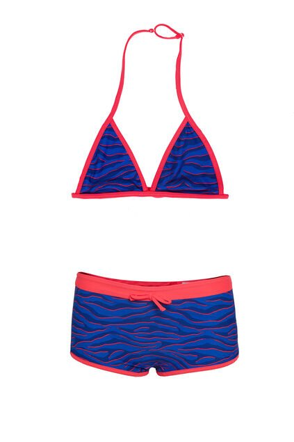 Meisjes triangelbikini All-over print