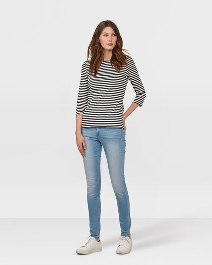 DAMES MID RISE SKINNY JEANS Lichtblauw