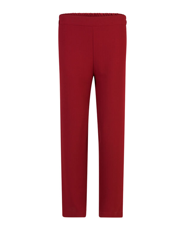 PANTALON SATIN LOOK FEMME Bordeaux
