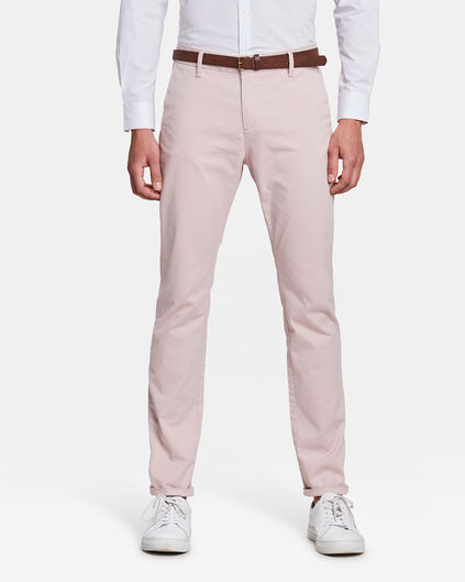 HEREN SKINNY FIT CHINO Oudroze