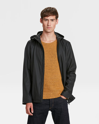 IMPERMÉABLE REGULAR FIT HOMME Noir