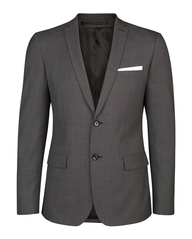 HEREN SLIM FIT BLAZER DENVER Grijs