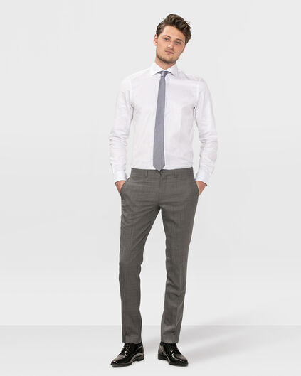 HEREN SLIM FIT PANTALON DUBLIN Grijs
