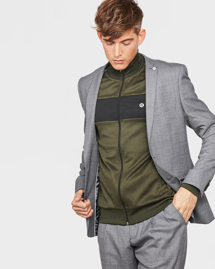 HEREN SLIM FIT TYPHOON OFF STAGE BLAZER Grijs