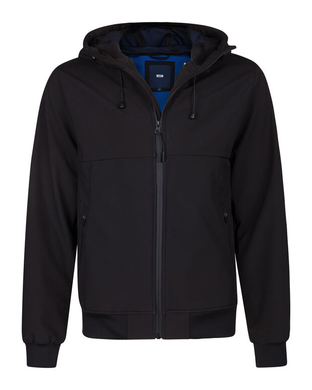 Heren softshell jas Zwart