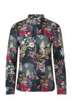 Dames bloemendessin blouse, All-over print