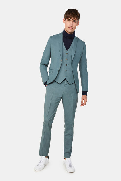 Costume skinny fit stretch Dali homme
