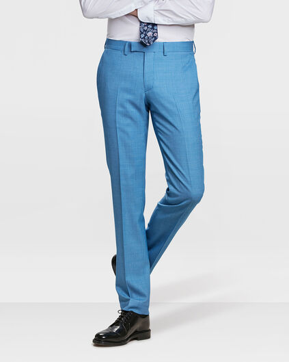 HEREN SLIM FIT PANTALON WICK Lichtblauw