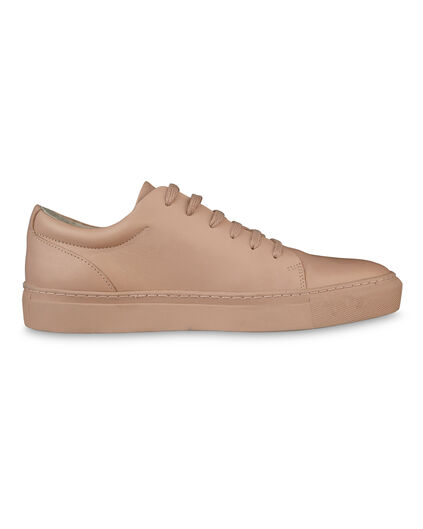 DAMES SOLID REAL LEATHER SNEAKERS Zalmroze