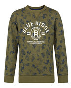 T-SHIRT BLUE RIDGE FISH PRINT GARÇON_T-SHIRT BLUE RIDGE FISH PRINT GARÇON, Vert armee