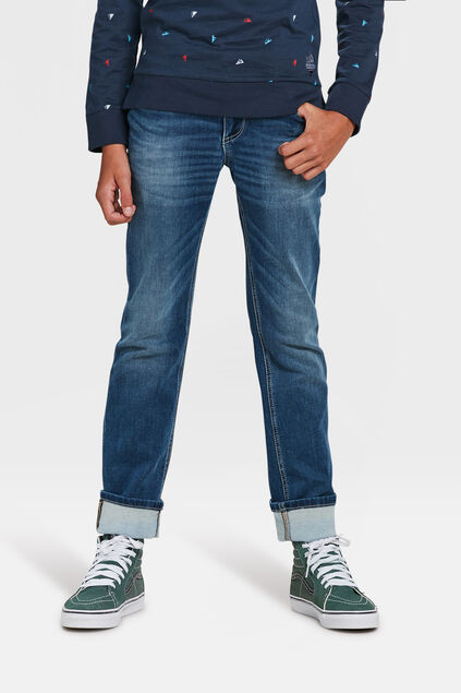 JOG DENIM REGULAR FIT GARÇON Bleu