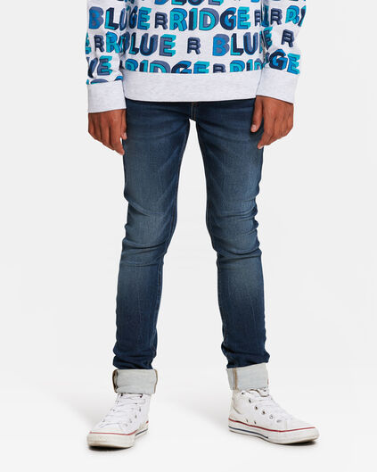 JONGENS ULTRA SUPER SKINNY JOG DENIM Blauw