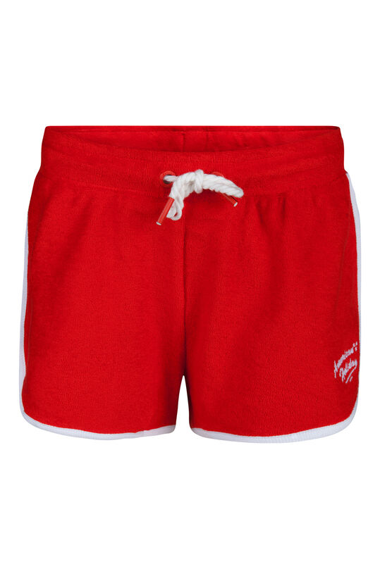 Meisjes American holiday print short Rood