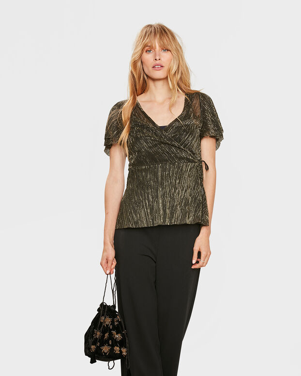 TOP PULL FEMME Or