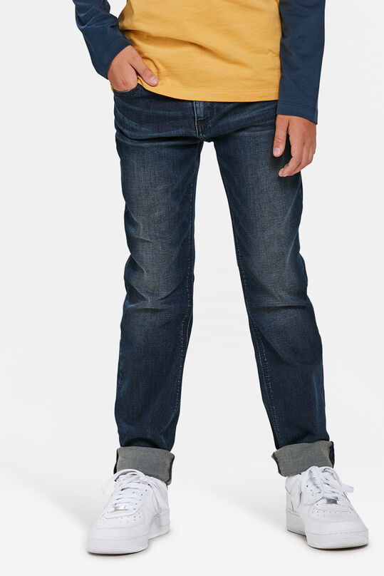 JONGENS SLIM FIT SUPERSTRETCH JEANS Donkerblauw