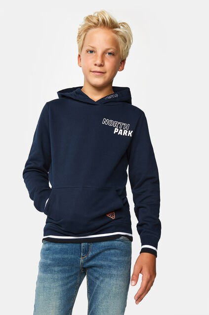 Sweat-shirt north park garçon Bleu marine