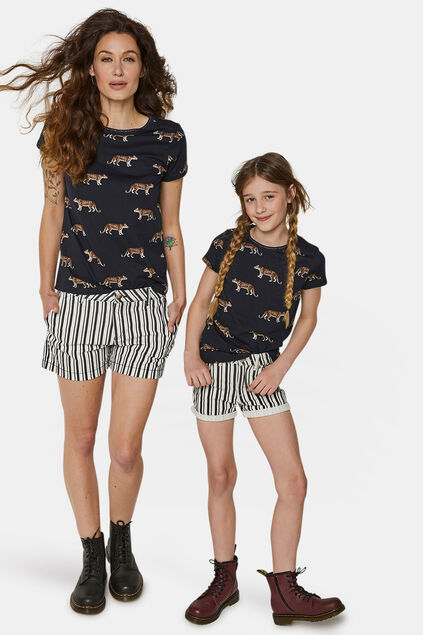 Mini me: Cheetah print T-shirt