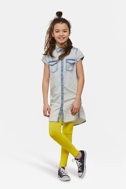 LEGGINGS FILLE Jaune
