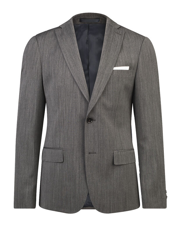 HEREN SLIM FIT BLAZER ALBA Grijs