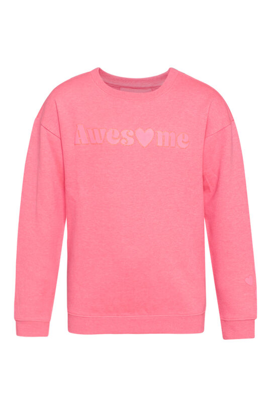Meisjes awesome neon sweater Roze