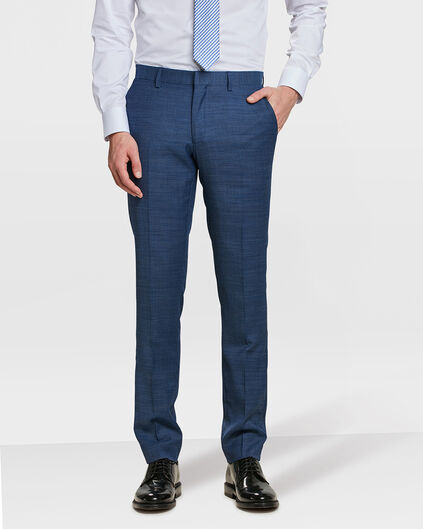 HEREN SLIM FIT PANTALON DORSET Marineblauw