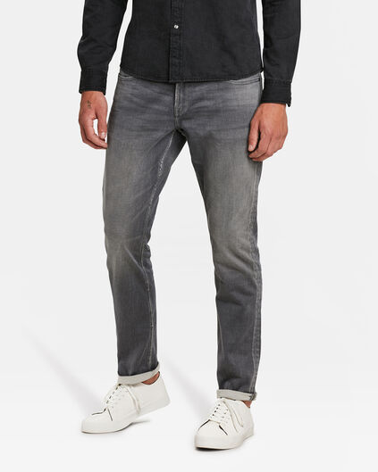 HEREN REGULAR STRAIGHT JOG DENIM Lichtgrijs