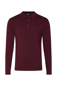 Pull polo homme_Pull polo homme, Bordeaux