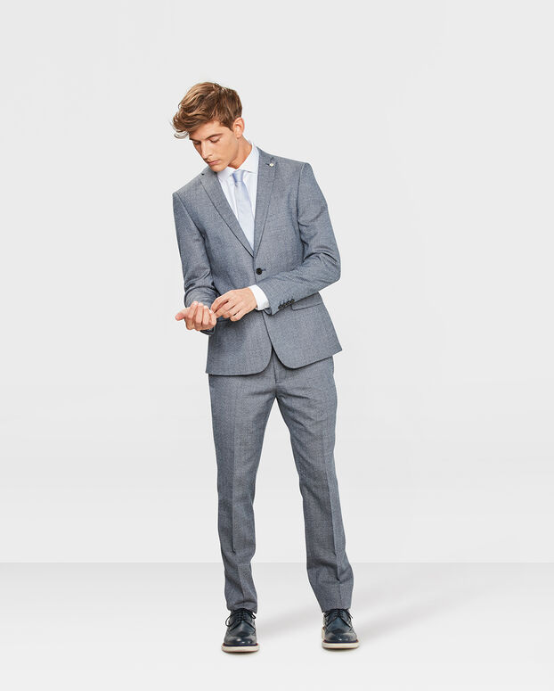 PANTALON SLIM FIT YORK HOMME Bleu