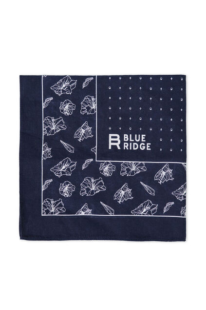 Heren Blue Ridge bandana Marineblauw