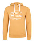 HEREN BLUE RIDGE HOODED SWEATER_HEREN BLUE RIDGE HOODED SWEATER, Mosterdgeel