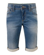 JONGENS SLIM FIT JOG DENIM SHORT_JONGENS SLIM FIT JOG DENIM SHORT, Blauw