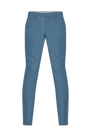 Heren slim fit pantalon Dali_Heren slim fit pantalon Dali, Blauw