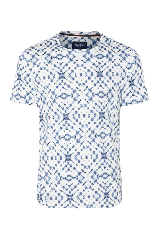 Heren T-shirt met dessin All-over print
