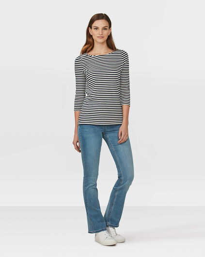 DAMES SKINNY FIT FLARE  JEANS Lichtblauw