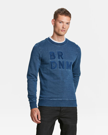 SWEAT-SHIRT BLUE RIDGE INDIGO HOMME Indigo