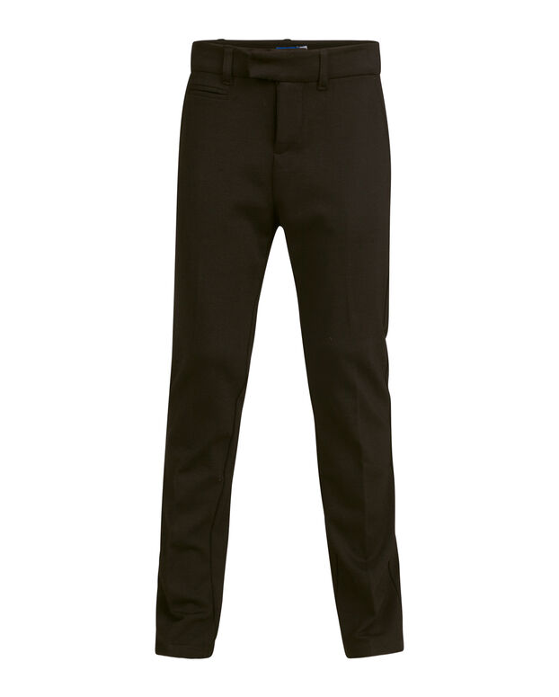 JONGENS REGULAR FIT KOSTUUM PANTALON Zwart