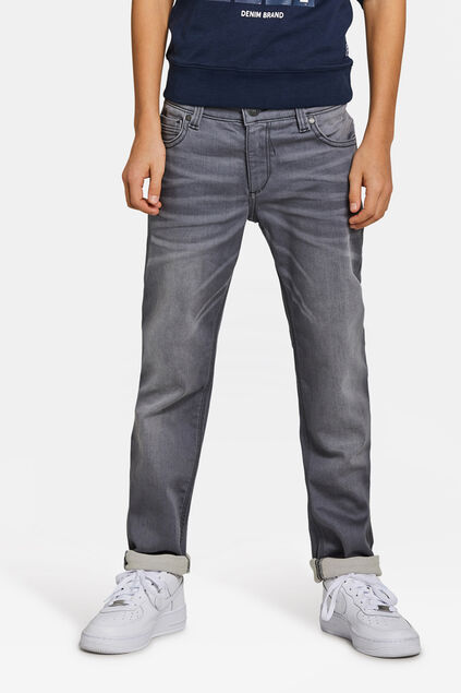 JONGENS SLIM FIT SUPERSTRETCH JOG DENIM Grijs