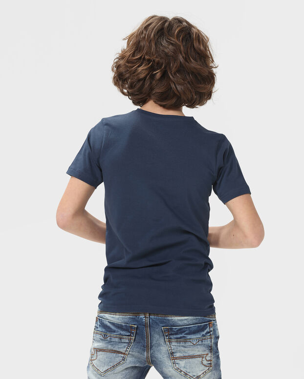 JONGENS ORGANIC COTTON T-SHIRT, 2-PACK Multikleur