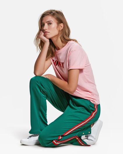 DAMES SPORTY STRIPE PANTALON Mosgroen