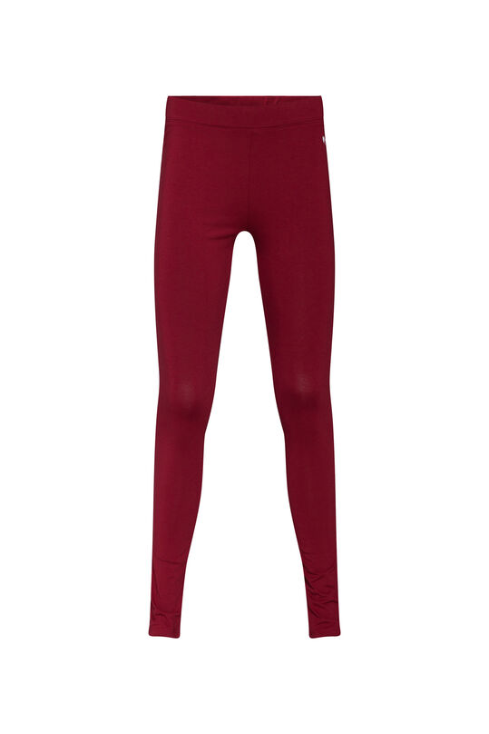 Meisjes skinny fit legging Bordeauxrood