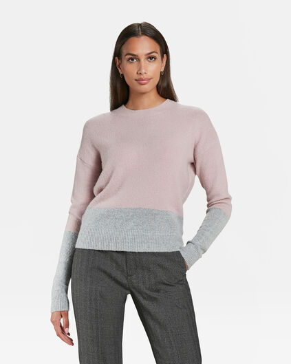 PULL COLOUR BLOCK FEMME Multicolore