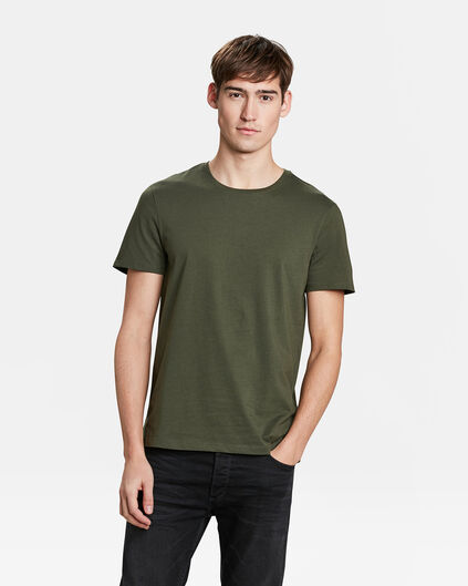 HEREN REGULAR FIT T-SHIRT Groen