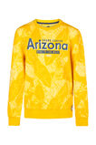 Jongens Arizona sweater, Okergeel