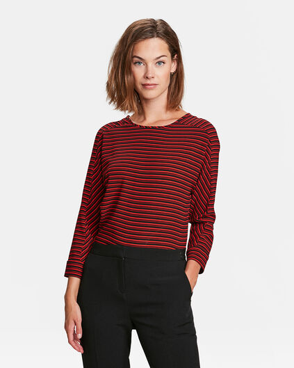 TOP BACK DETAIL FEMME Rouge
