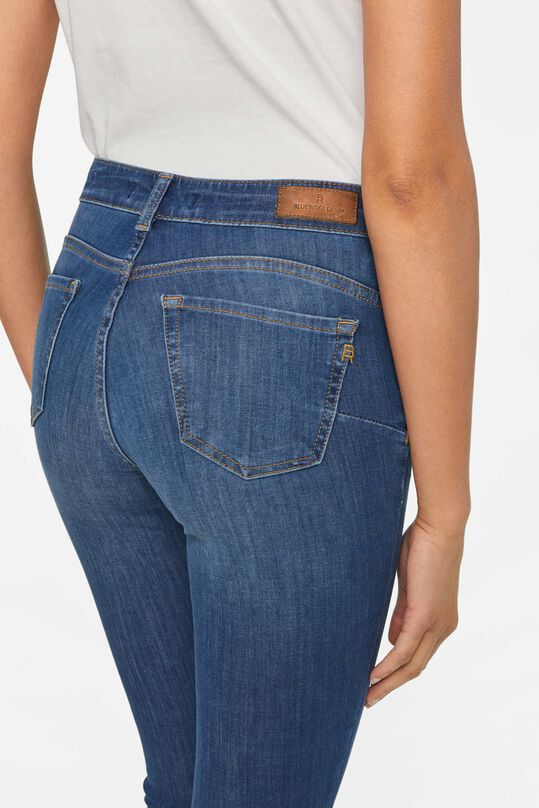 Dames super skinny shaping jeans Blauw