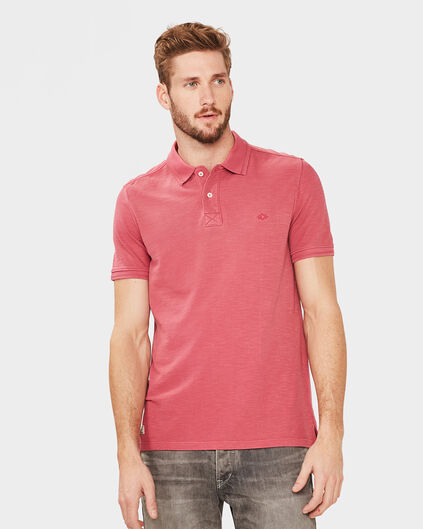 POLO SOLID HOMME Rouge