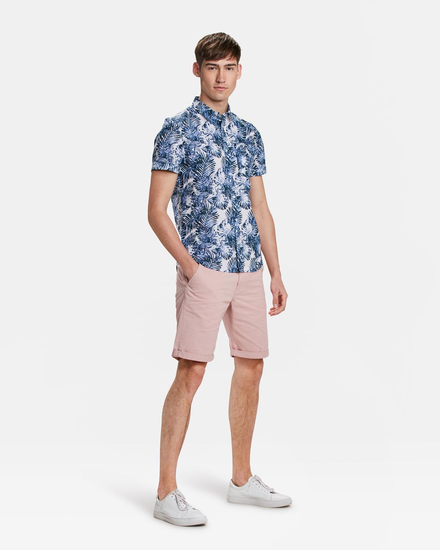 Chino Korte Broek Heren.Heren Slim Fit Chino Short 85705982 We Fashion